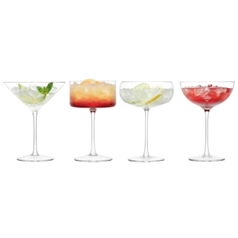 Lulu Cocktail Glasses Set of Four £40